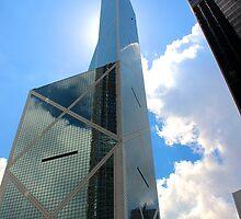 HK Central Buildings II - Hong Kong.  by Tiffany Lenoir