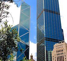 HK Central Buildings IV - Hong Kong. by Tiffany Lenoir