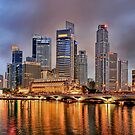 Singapore Skyline by Christopher Chan