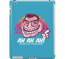 I Hate this Trollin Crap! iPad Case/Skin