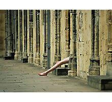 Oxford Legs Photographic Print