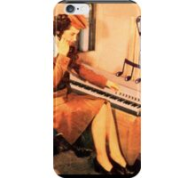 Attendent at the Rhodes iPhone Case/Skin