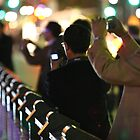 photographers on Princess Bridge by rick strodder