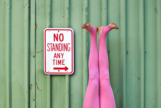 No Standing.... by Melody
