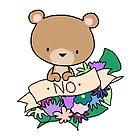 Brown Bear, NO! by Bantambb