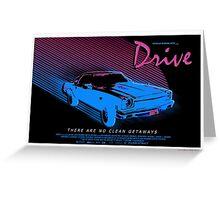 Drive Greeting Card