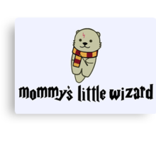 Mommy's Little Wizard Canvas Print