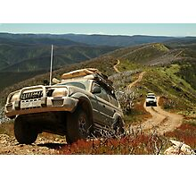 Mountain Driving, Blue Rag Range Photographic Print