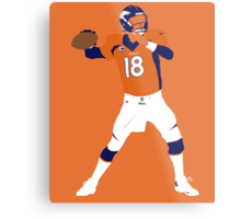 Peyton Williams Manning Metal Print