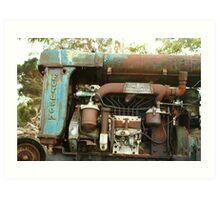 Engine Bay Art Print
