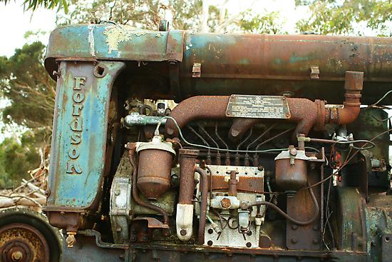 Engine Bay by Stephen Mitchell