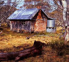 JB Plains Hut - Dinner Plain - Victoria by James Pierce