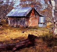 JB Plains Hut - Dinner Plain - Victoria by James Pierce