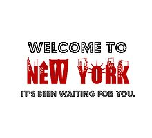 Welcome To New York by Aly Dematti