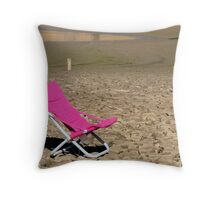 On The  Edge Series Number 3 Throw Pillow