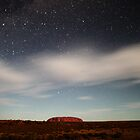 Ayers Rock (Uluru) by Moonlight 2 by richocam