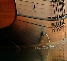 Hull,Tall Ship by Joe Mortelliti