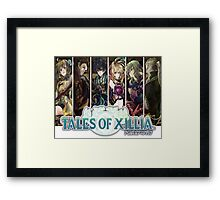 Tales Of Xillia Group Framed Print