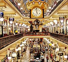 Queen Victoria Building by Christopher Chan