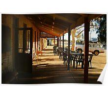 Pub, Outback Tibooburra,N.S.W.  Poster