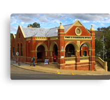 Omeo Post Office Canvas Print