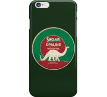 Sinclair Opaline Motor Oil iPhone Case/Skin