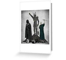 Dark Power Greeting Card