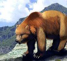 Grizzly Bear by farorenightclaw