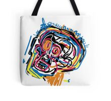 Jean Michel Basquiat Head Tote Bag