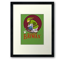 The Legend of Baymax Framed Print