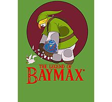 The Legend of Baymax Photographic Print
