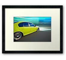 Ford BA XR6 at night Framed Print