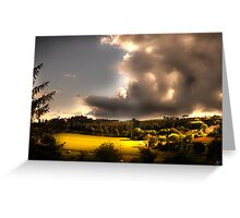 Umbria Hills Greeting Card