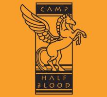 Camp Half-Blood Shirt (Black Design) by arivin923