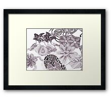 Death's Garden Framed Print