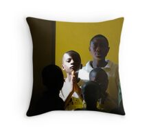 'Child in church,' Northern Rwanda Throw Pillow