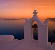 Sunset at Oia by RedChevy