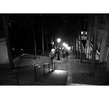 Steps of MontmartreParis Photographic Print