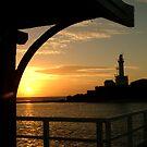 Pt Lonsdale Lighthouse by Joe Mortelliti