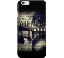 Take Me On A Trip iPhone Case/Skin