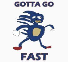 Sanic - Gotta go fast T-Shirt