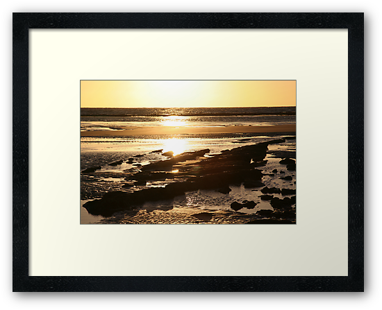 Torquay Sunrise by Vanessa Semmens