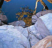 Waterhole, Central Australia by Kevin McGennan