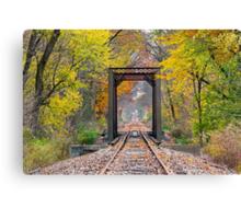 October Rails Canvas Print