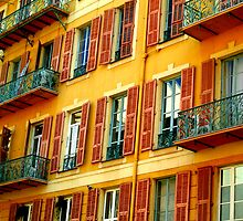 An Apartment Block In Nice by David Mack
