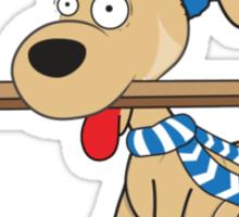 Hockey Dog Sticker