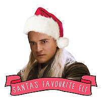 Santa's Favourite Elf - Legolas by casscain