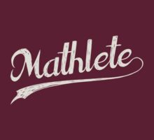 All Star Mathlete Math Athlete by TheShirtYurt