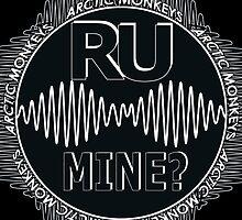 R U Mine? Blck/Wht/Blck by psycheincolour