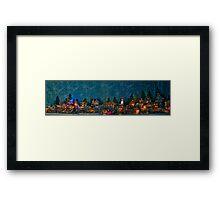 Christmas Village  Framed Print
